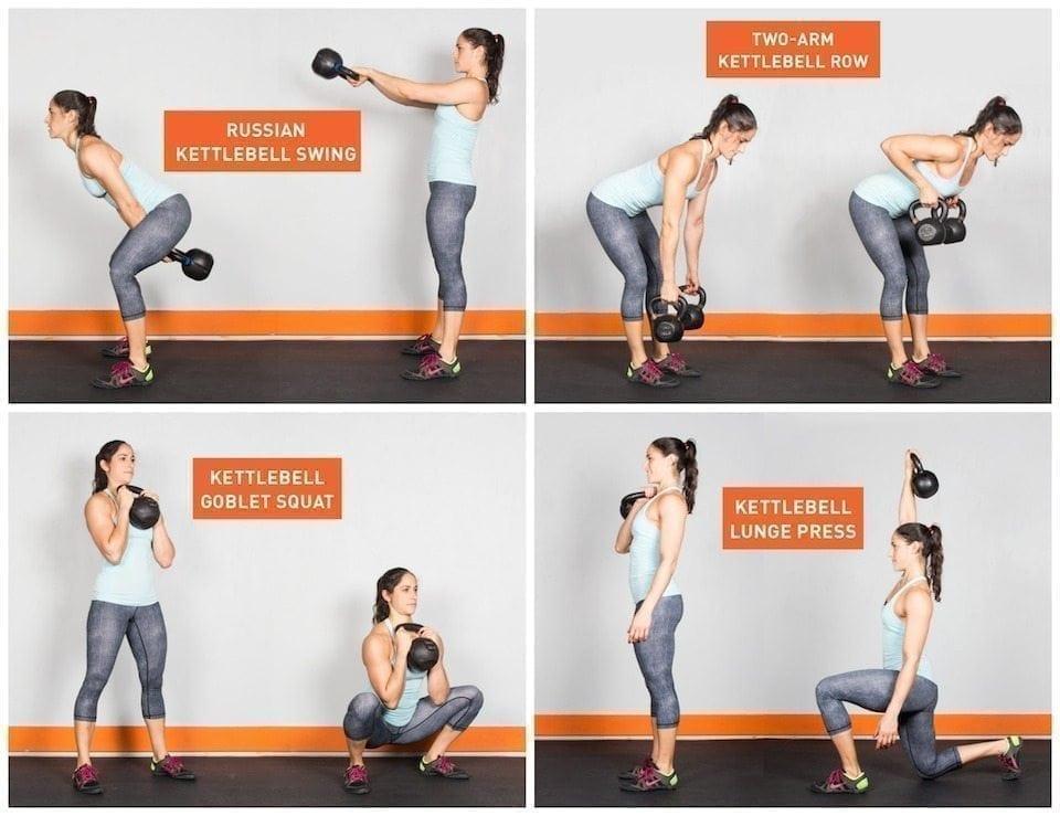 22 Kick-Butt Kettlebell Exercises | MyFitnessPal