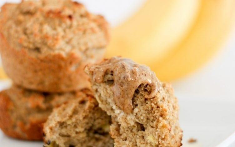 Banana-Sweetened Bran Muffins
