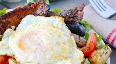 Brunch-worthy Breakfast Salad