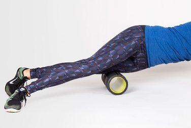 quad foam roller move
