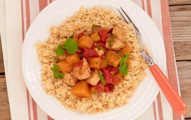 One-Pot Chicken & Butternut Squash Stew