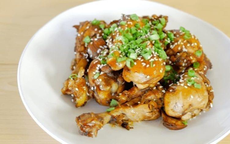 Asian Glazed Chicken Drumsticks [Video]