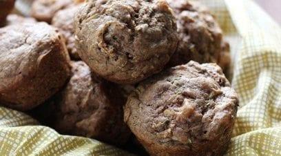 Mini Zucchini-Nut Muffins