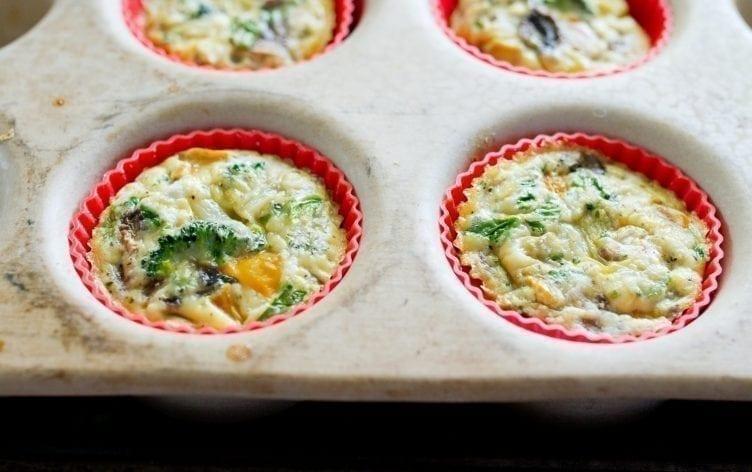 Baked Veggie Egg Cups