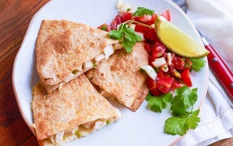 Easy Chicken Quesadilla