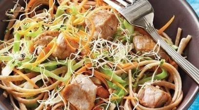 Sautéed Pork & Noodles