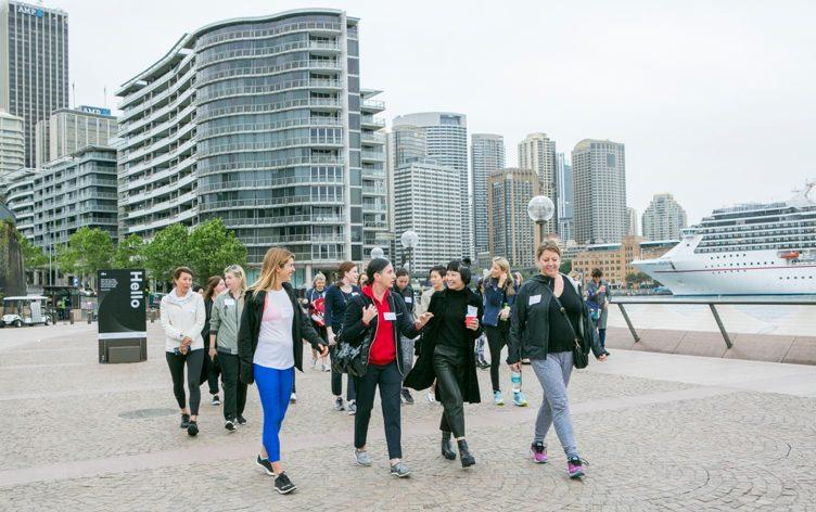 A New Trend in Walking Meetings (Thanks, Australia)