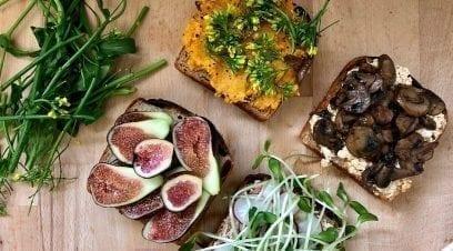 4 Comforting Non-Avocado Toasts