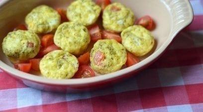 Pesto Egg Bites