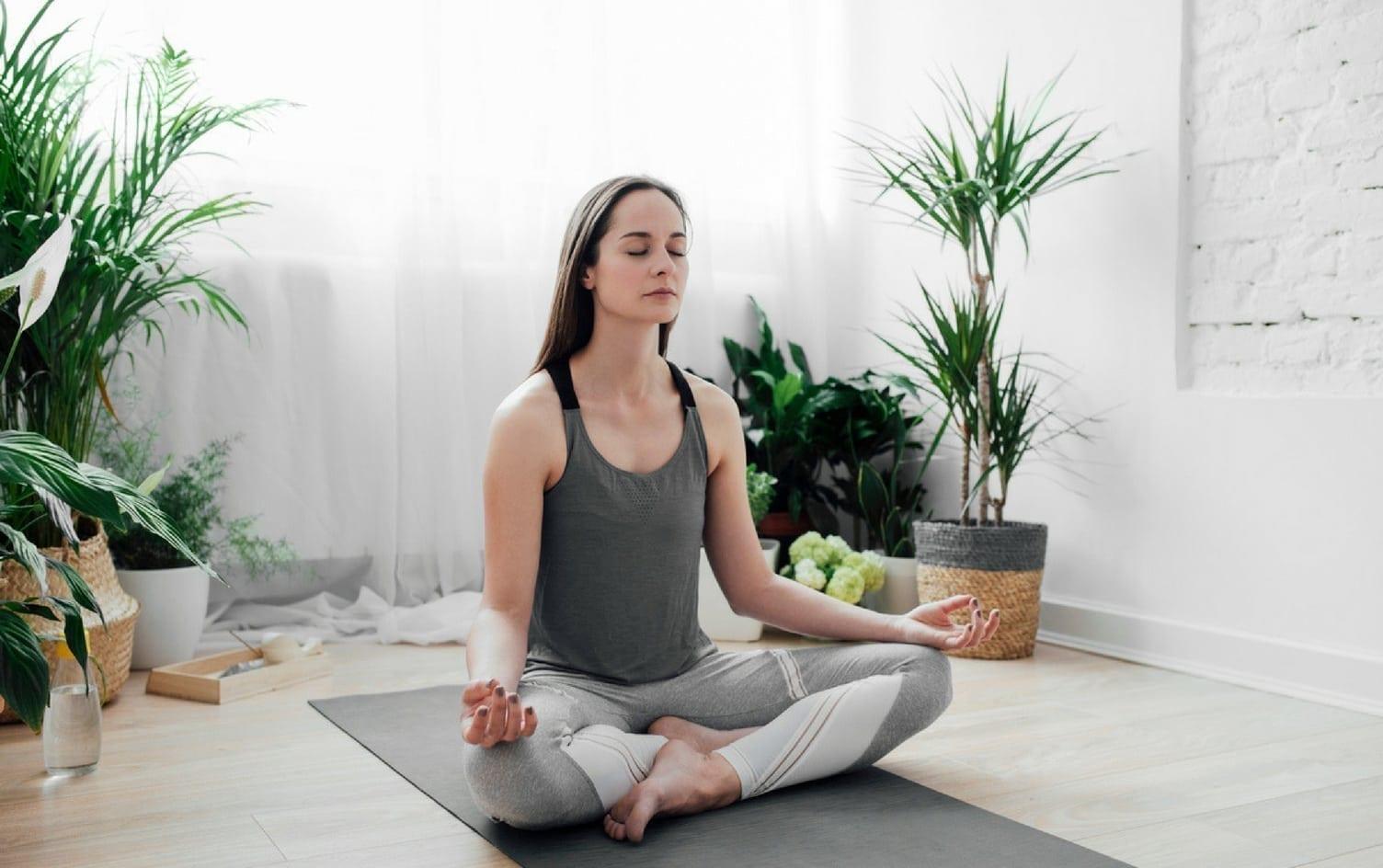 Картинки цветы йога