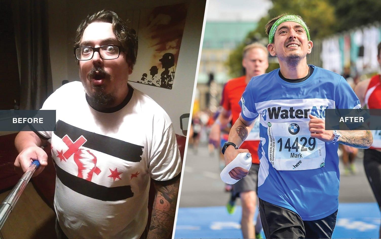 26.2 Run Marathon Miles Cause Challenge Fitness Exercise Legs     Mens T-shirt