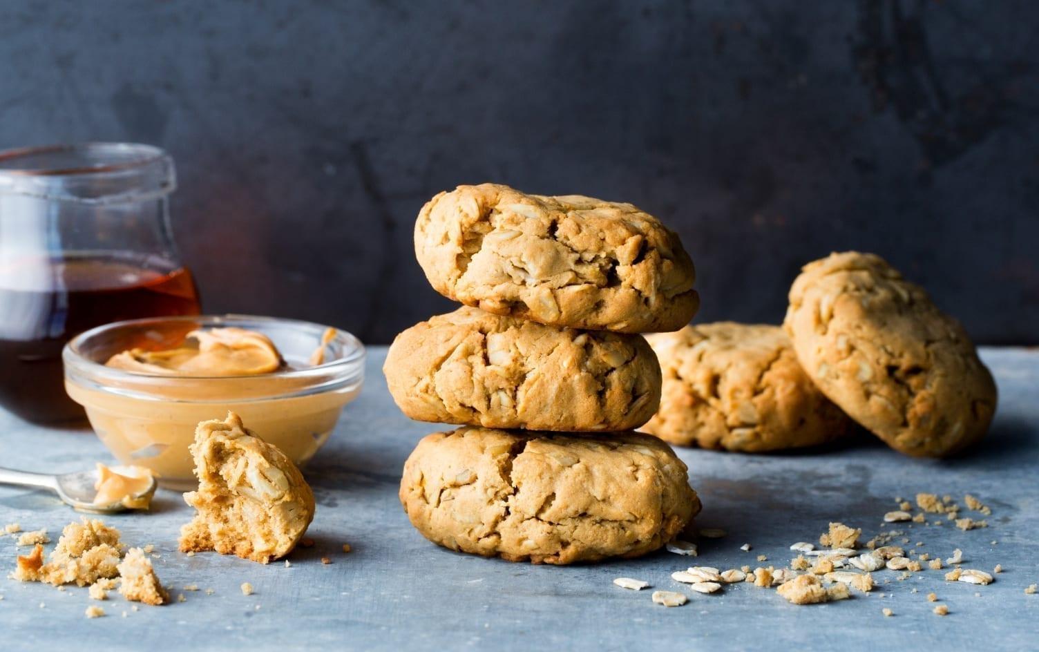 Peanut Butter Oatmeal Breakfast Cookie