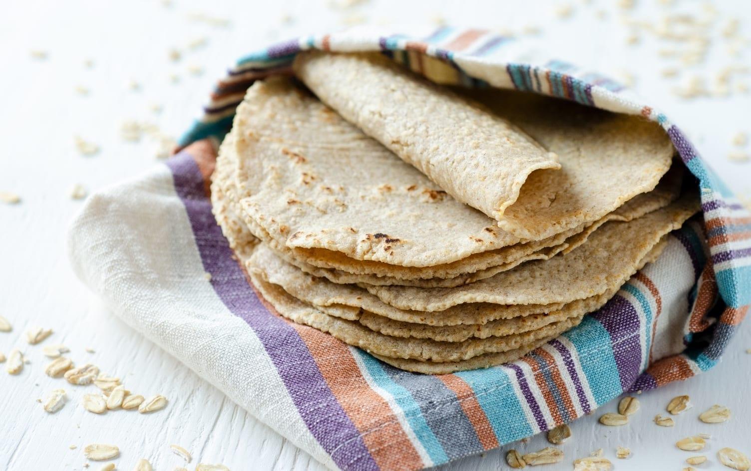 Oatmeal Tortillas