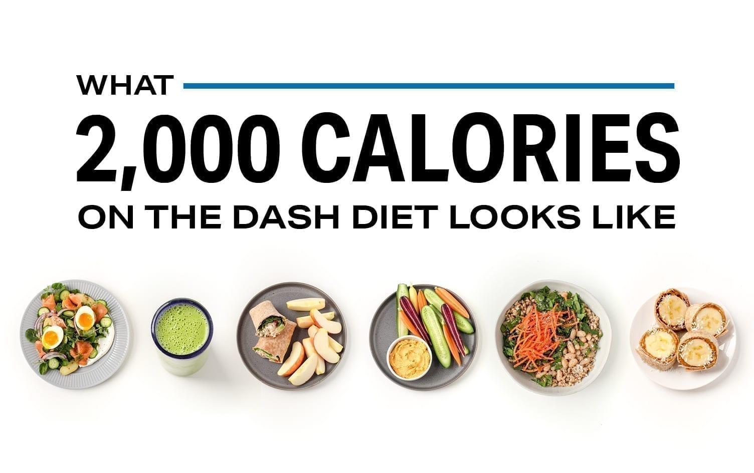 dash diet 2400 calories