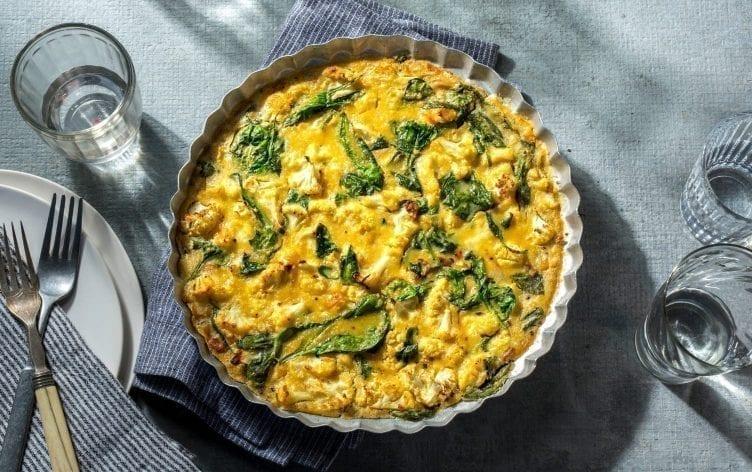 Vegan Chickpea Frittata