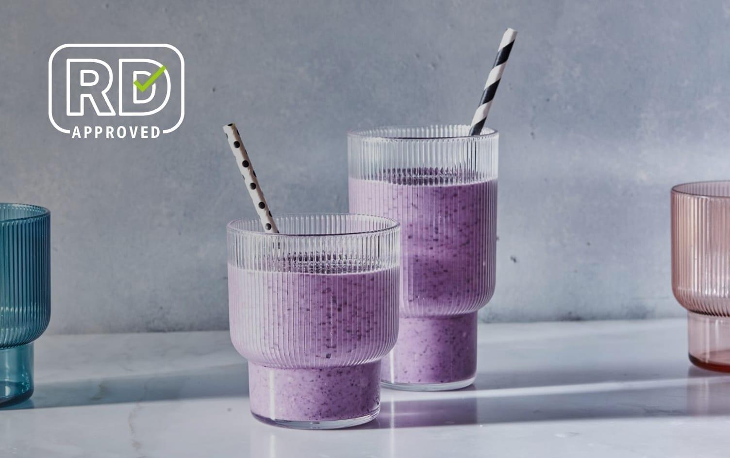 Blueberry-Avocado Smoothies