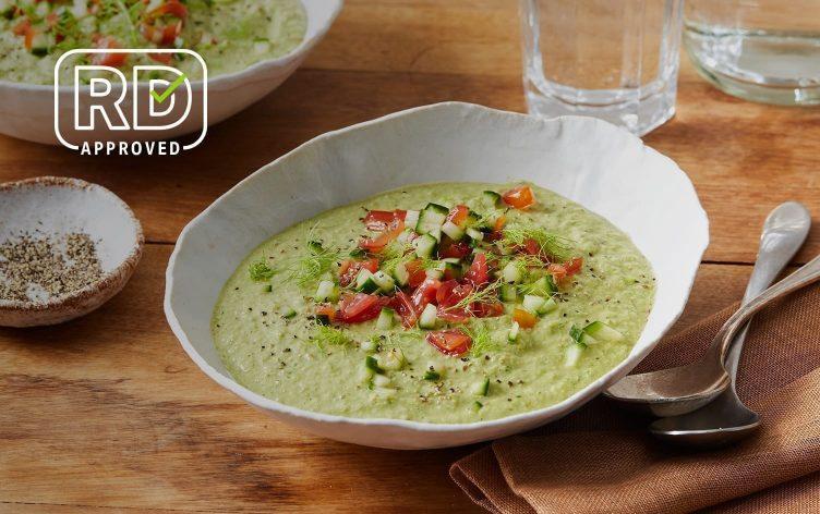 Green Cucumber Gazpacho