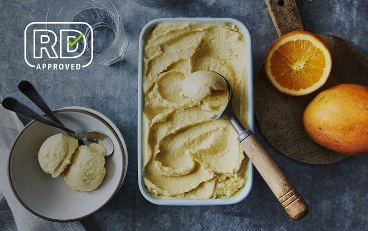 3-Ingredient Mango Sherbet