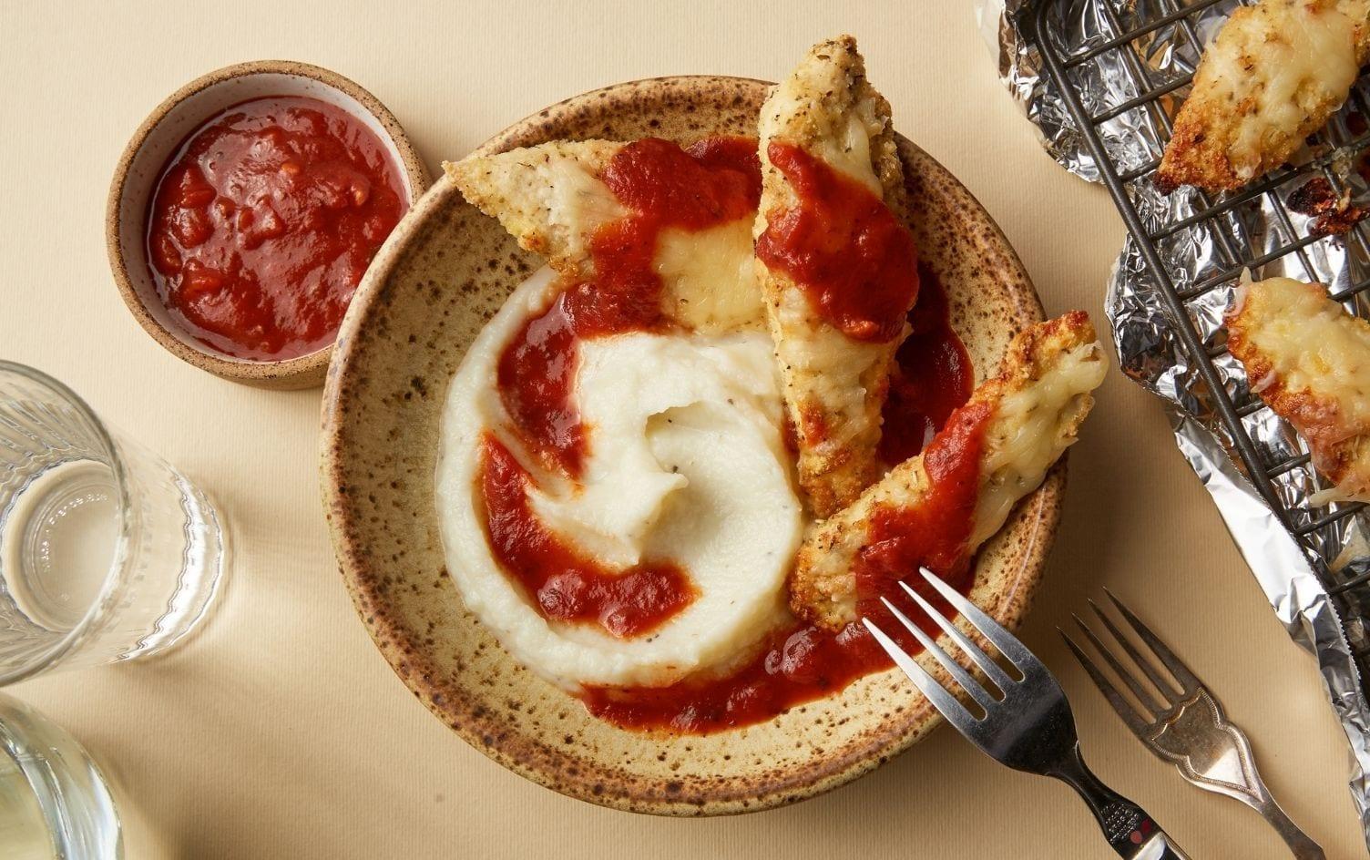 Low-Carb Chicken Parmesan Bowls | Recipes | MyFitnessPal