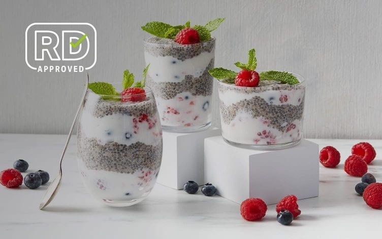 Make-Ahead Chia Pudding, Yogurt and Berry Parfaits