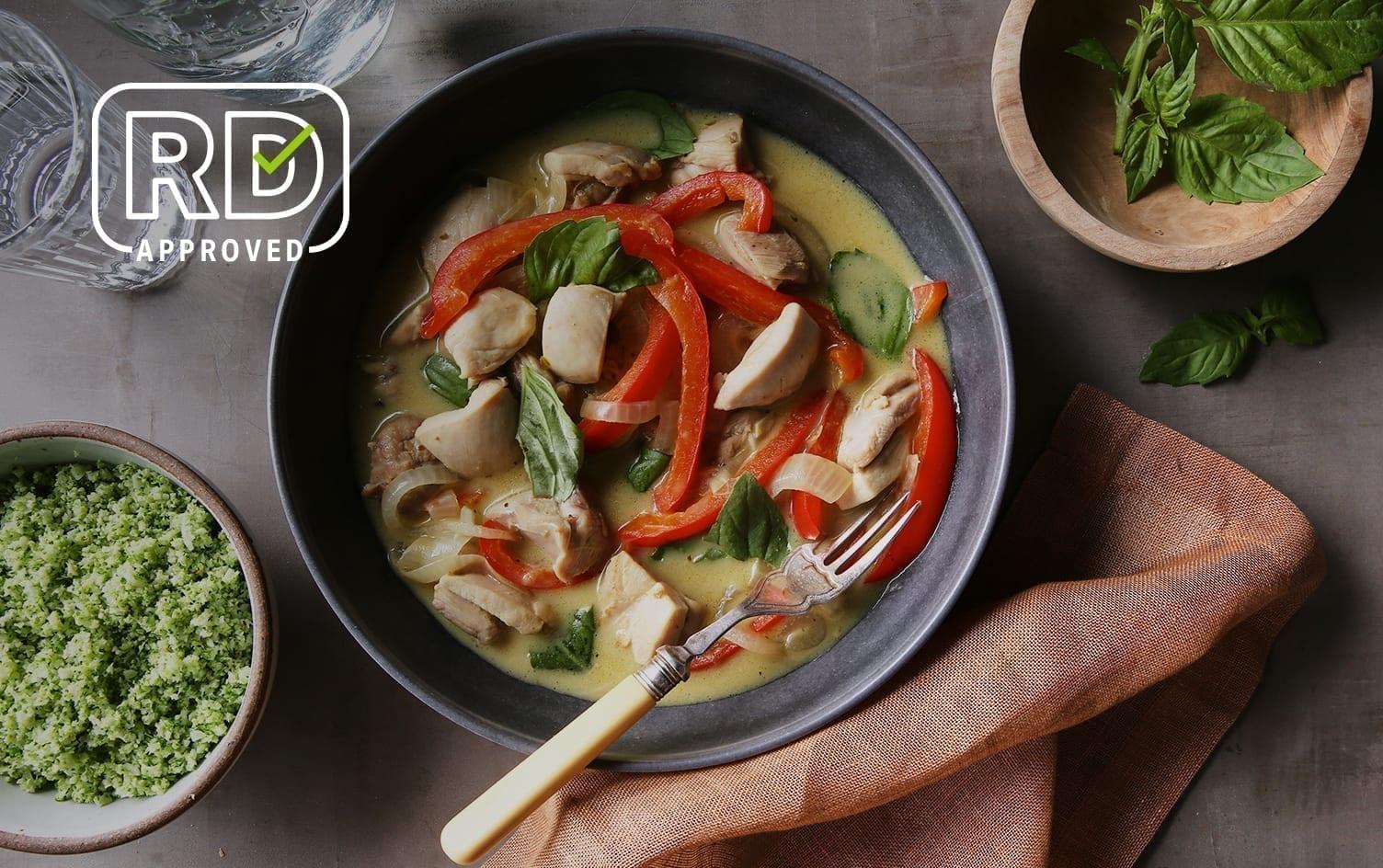 30-Minute Thai Coconut Chicken Curry