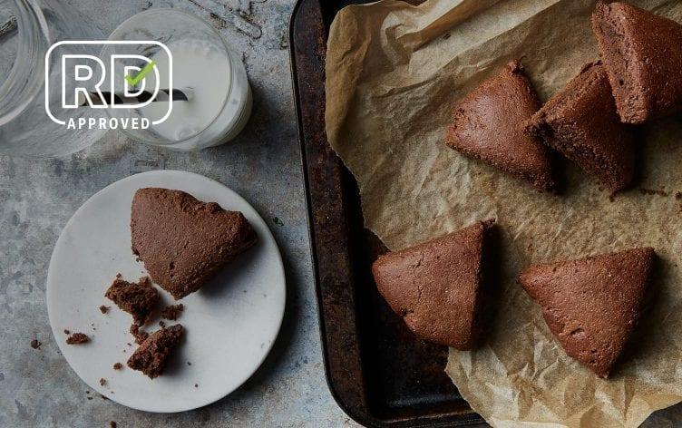 Almond-Flour Cocoa Scones