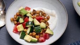 Shawarma-Spiced Chickpea Bowls