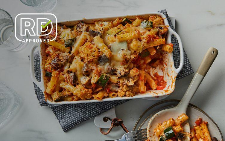 Veggie-Packed Baked Ziti